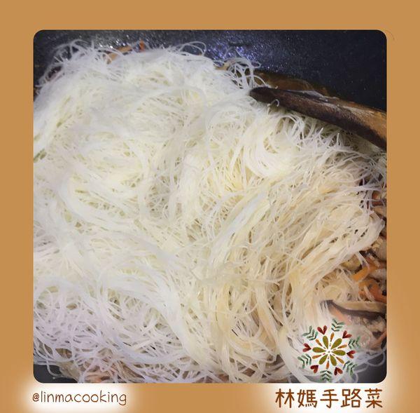 炒米粉步驟