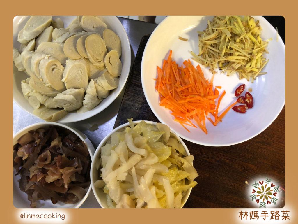 榨菜麵腸材料