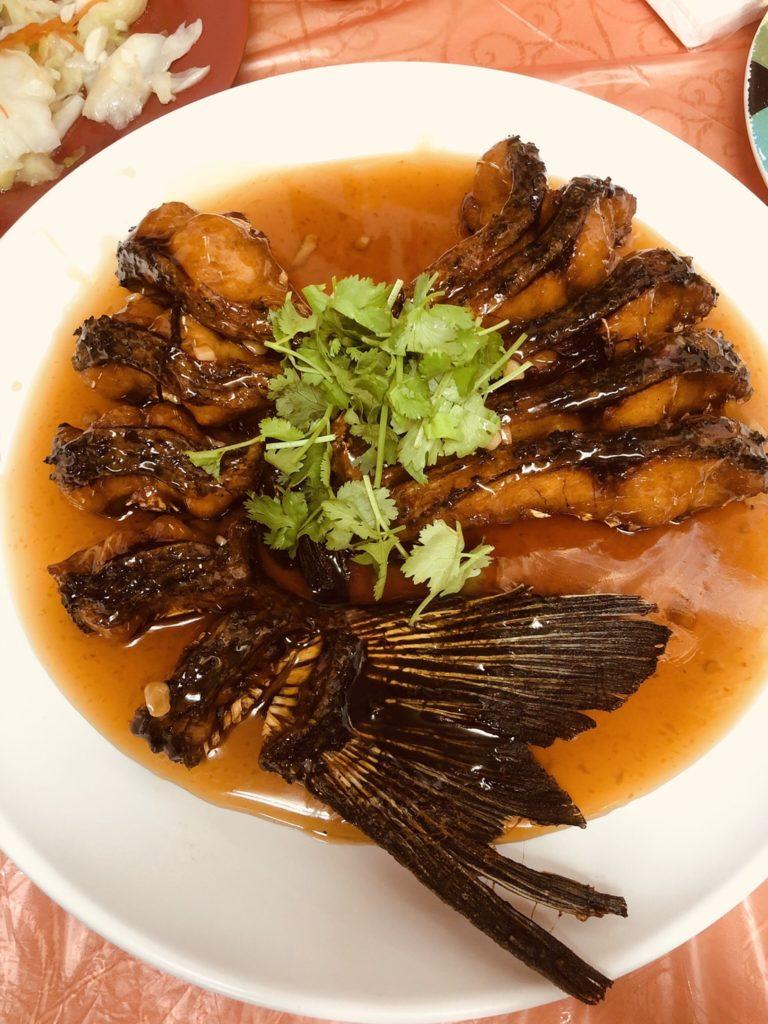 南園活魚糖醋魚